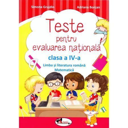 TESTE EVALUARE NATIONALA CLS A IV-A (ROM+MATE)