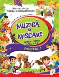 MUZICA SI MISCARE - MANUAL CLASA A II-A