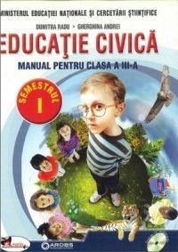 EDUCATIE CIVICA - MANUAL CLASA A III-A RADU/ANDREI