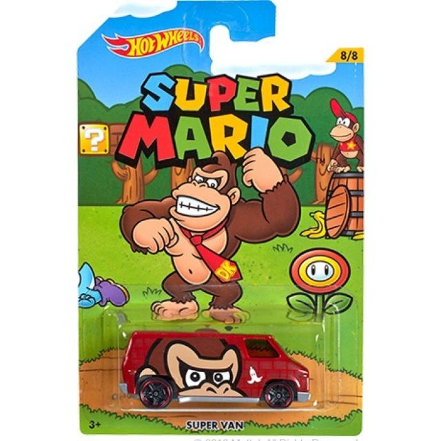 Masinuta Hot Wheels,Die Cast,Seria Super Mario