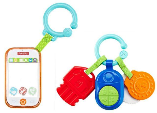 Zornaitoare smart phone/chei,Fisher Price