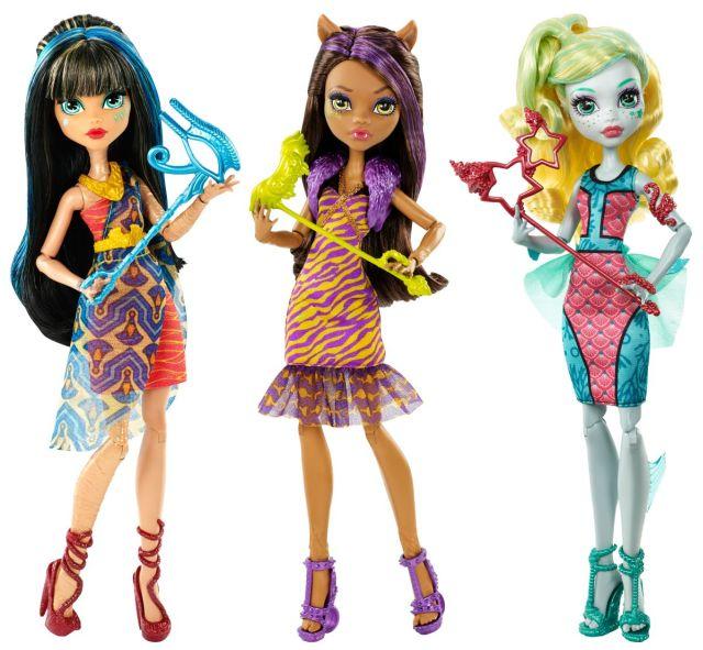 Papusa Monster High,Trimite frica la dans