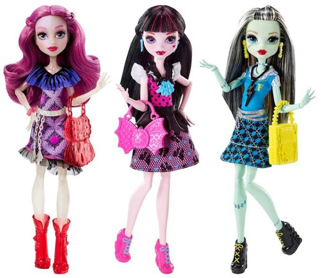 Papusa Monster High,clasic,div.mod,DNW97