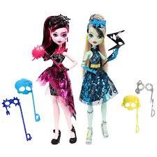Papusa Monster High,Sperie distractia