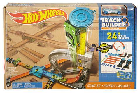Pista de baza,Track Builder,Hot Wheels