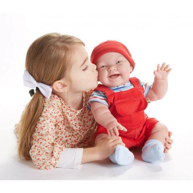Papusa bebe Nico,imbracat,46cm,JC Toys