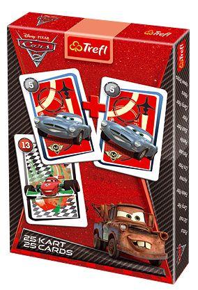 Carti de joc Trefl,Pacalici,Cars 2
