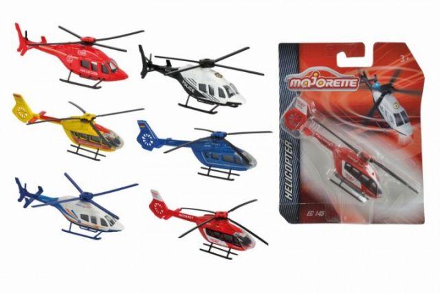 Elicopter Majorette,13cm,div.mod.,blister