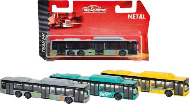 Autobuz Majorette, MAN,13cm,div.culori,blister