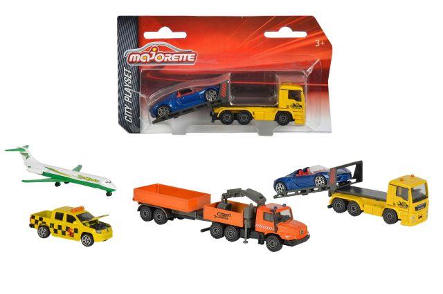 Vehicule Majorette,City,2/buc/set,blister