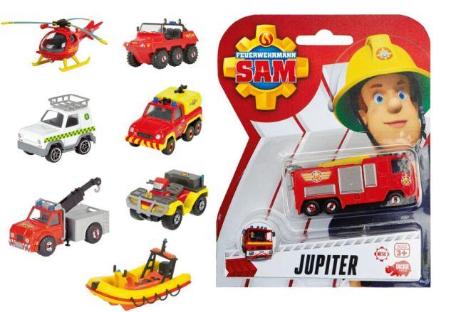 Masinuta Pompierul Sam,1:64,blister,div.modele
