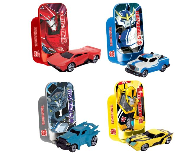 Masinuta Transformers,7cm,cutie metal,div.mod
