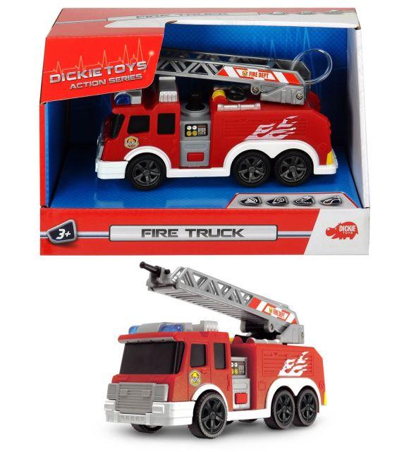 Masina Dickie,pompieri,15 cm,sunete,lumini