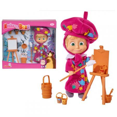 Papusa Masha and the Bear,atelier pictura