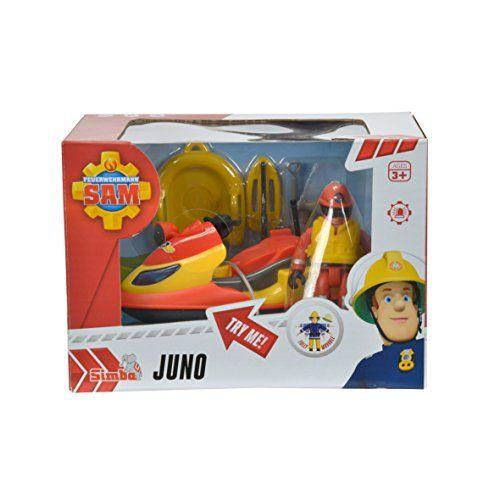 Skyjet pompierul Sam,Juno,cu figurine