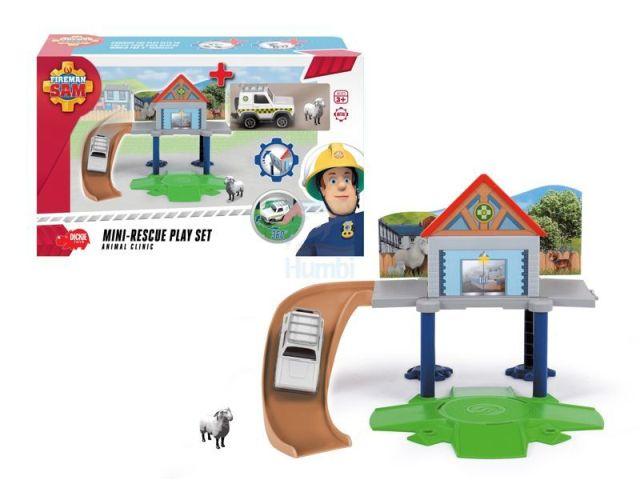 Set joaca,Pompierul Sam,clinica de animale