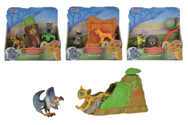 Figurine,Lion Guard,agresor,set,div.modele