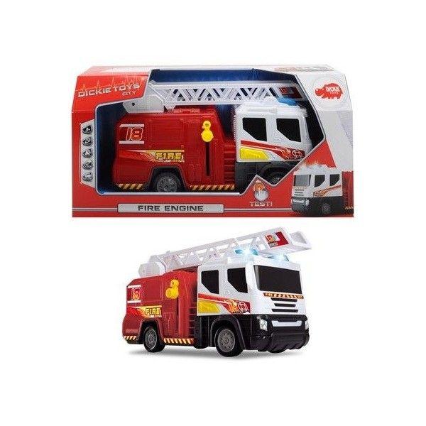 Masina Dickie,pompieri,43cm,sunete,lumini