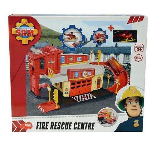 Set joaca,Pompierul Sam,centru de salvare