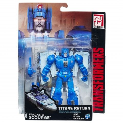 Transformers-Figurina Genertions,Titan Masters, cu acc