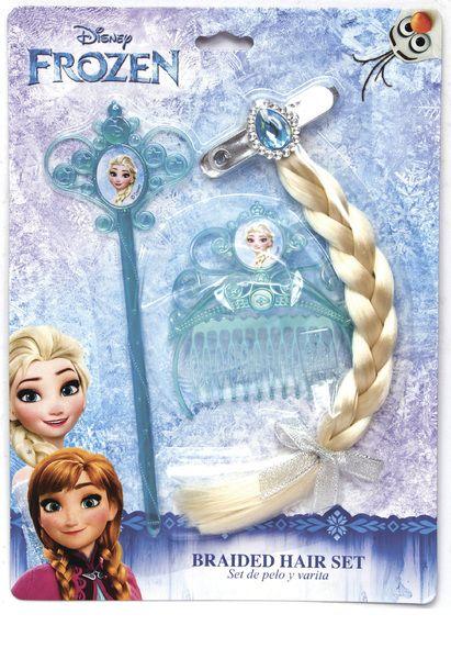 Set accesorii pt par,Frozen,3pcs