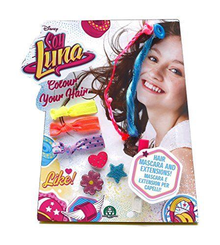 Set de colorat parul,cu 6 acc.,Soy Luna