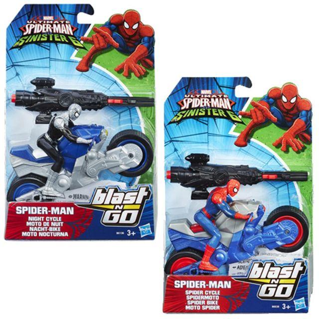 Figurina SpiderMan,cu vehicul