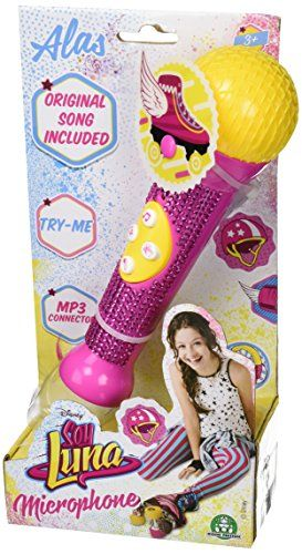 Microfon cu strasuri,Soy Luna
