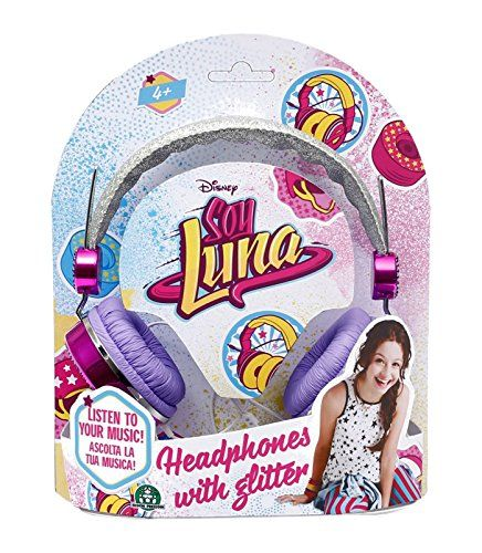 Casti audio cu sclipici,Soy Luna