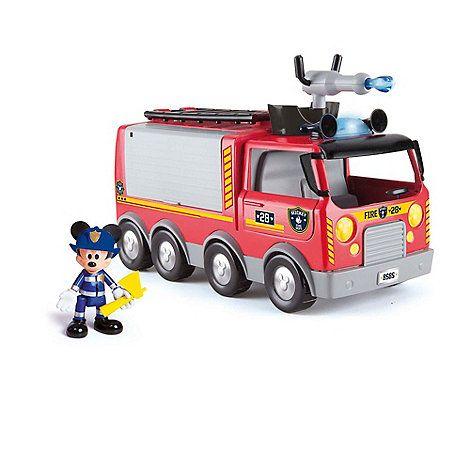 Camion Pompieri cu sunete,lumini si figurina,Mickey