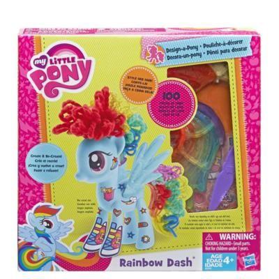Mlp-Rainbow Dash,set decorare