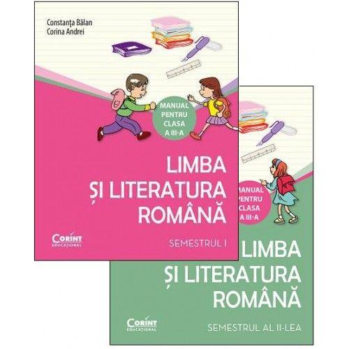 MANUAL CLS. A III-A LIMBA SI LITERATURA ROMANA (2 VOL)