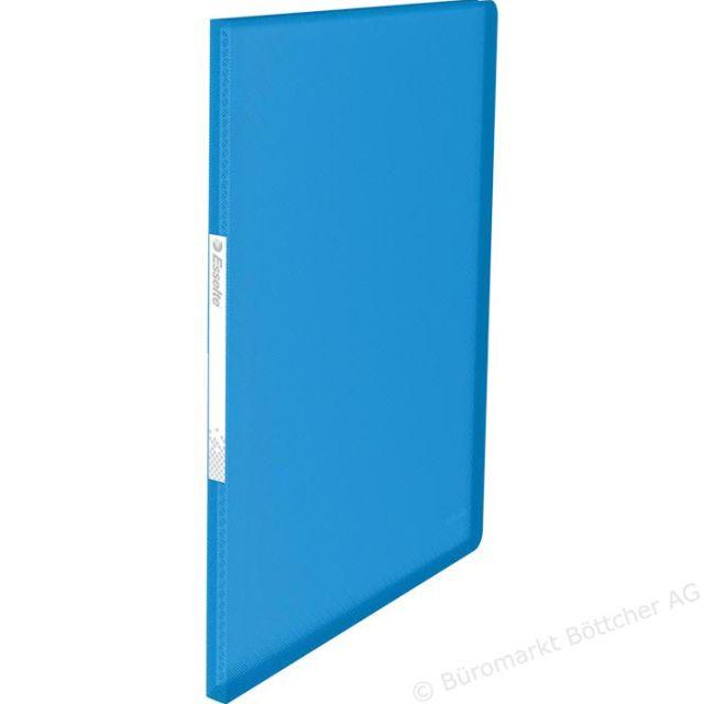 Mapa prezentare Esselte Vivida,A4,20file,albastru