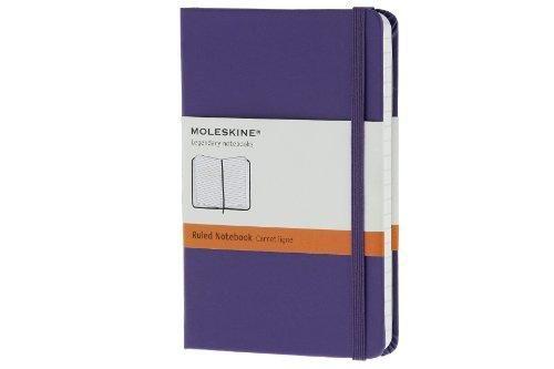 Agenda A6,Moleskine Colored,violet,liniat