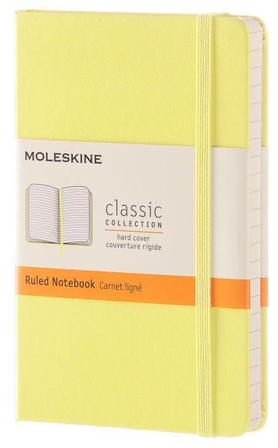Agenda A6,Moleskine Colored,galben,liniat