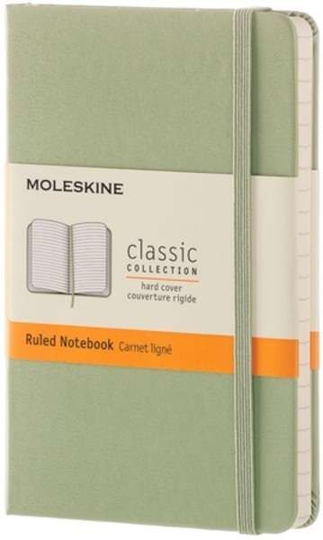 Agenda A6,Moleskine Colored,verde,liniat