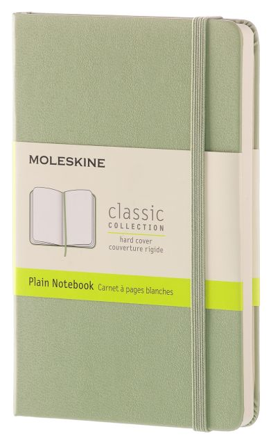 Agenda A6,Moleskine Colored,verde,velin