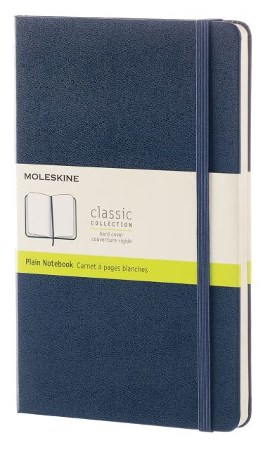 Agenda A5,Moleskine Colored,bleu,velin