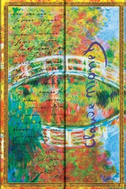 Agenda mini,Monet,Letter to Morisot,velin