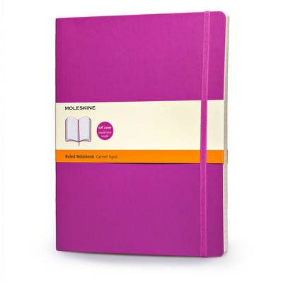 Agenda 19x25cm,Moleskine Colored,violet,liniat