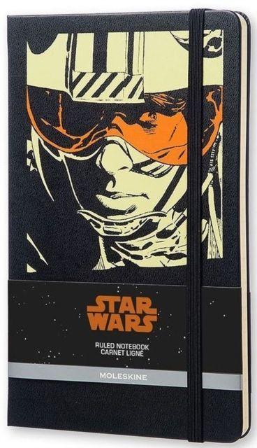 Agenda A5,Moleskine Star Wars Luke,liniat