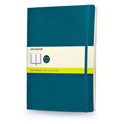 Agenda 19x25cm,Moleskine Colored,bleu,velin