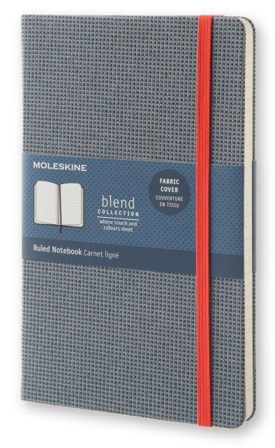 Agenda A5,Moleskine Blend,bleu,dict