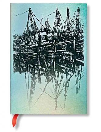 Agenda midi,Boats and Reflections,liniat