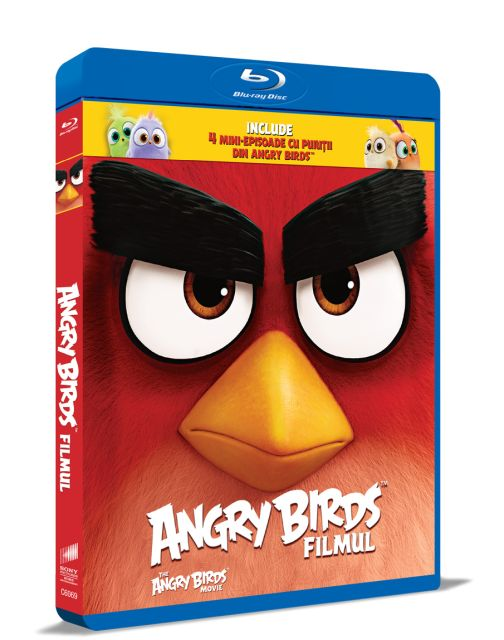 BD: ANGRY BIRDS MOVIE - ANGRY...