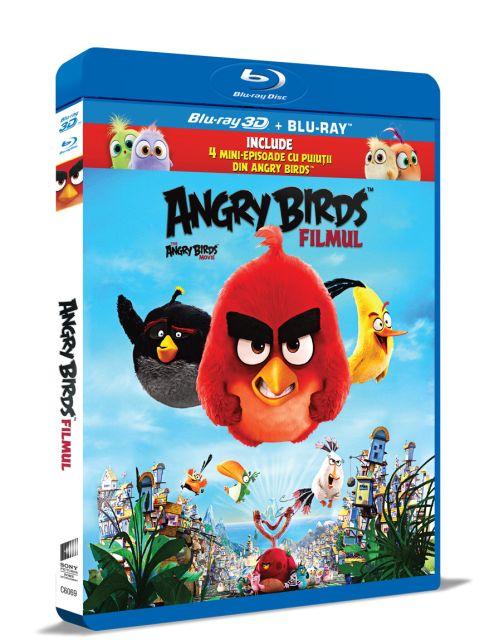 BD: ANGRY BIRDS MOVIE - ANGRY BIRDS: FILMUL 2D+3D
