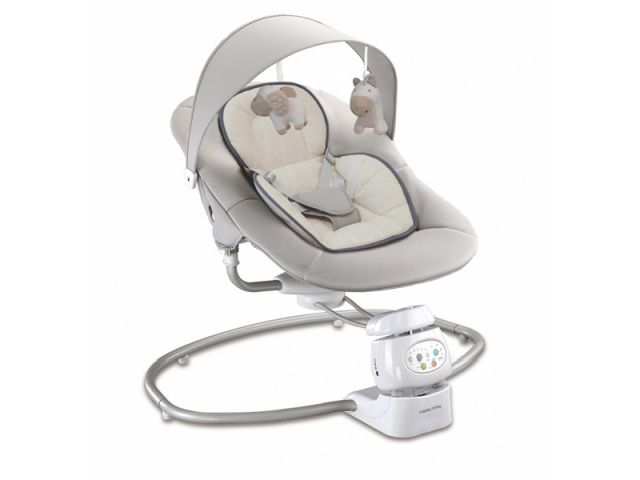 Leagan electric bebelusi Baby Mix  UR BY002 Beige