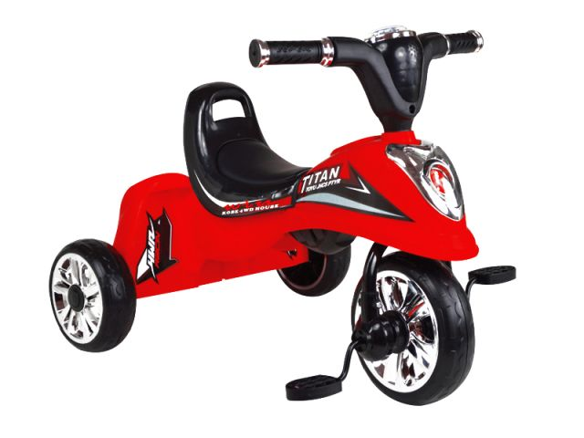 Tricicleta pentru copii MyKids Titan rosu