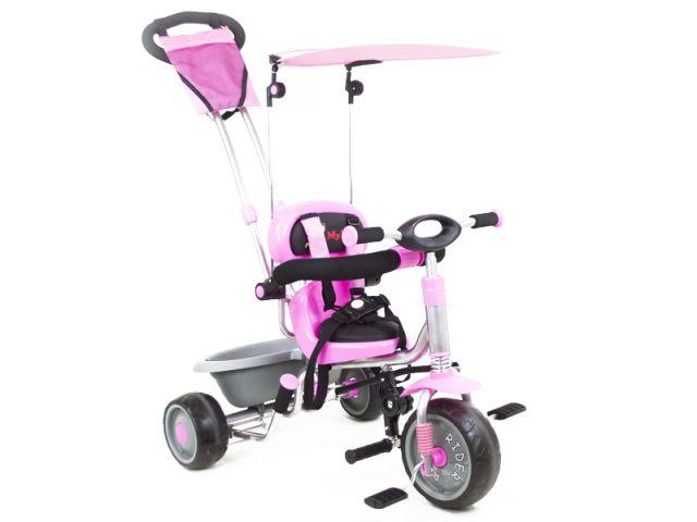 Tricicleta Pentru Copii MyKids Rider A908-1 Roz