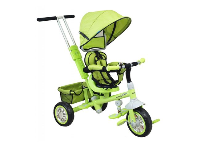 Tricicleta copii cu scaun reversibil Baby Mix UR-ETB32 2 Green